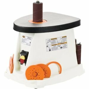Oscillating Spindle Sander Single Phase Woodworking Equipment W1831 1 2 Hp