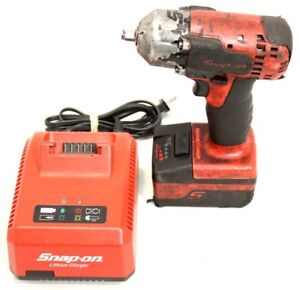 Snap On Cordless Monster Lithium Impact Ct8810a0 With Battery And Charger