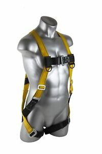 Harness Construction Buckles Support Personal Safety Full Body Fall Protection