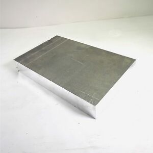 2 5 Thick 2 1 2 Aluminum 6061 Plate 10 25 X 16 625 Long Sku 137520