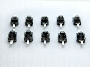 Switch With On off Push Button mini Black Switch For Small Electronic Projects
