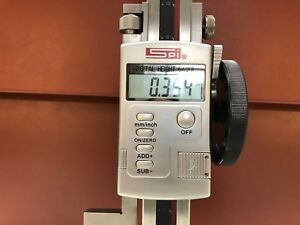 Spi 24 Electronic Height Gage 0 0005 Res Accurate To 0 003 Lcd Display