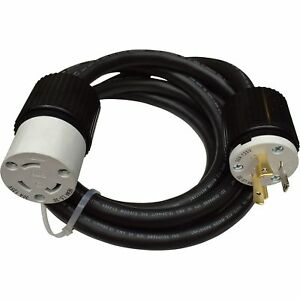 Reliance Generator Power Cord 30 Amps 125 Volts 20ft Model Pc3120