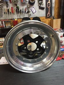 Weld Alumastar Wheel 15x3 Ford Pattern Nhra Mustang Racing