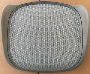 A Size Brand New Oem Herman Miller Aeron Chair Seat A Size Frame Titanium Small
