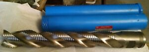 Niagara Cutter Cobalt Rougher End Mill 2 X 12 Loc New 3 Flute 2 Dia Shank
