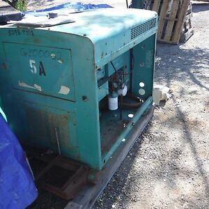 Onan 5a Diesel Gen Set Generator With Cooling System 7 5 Kva 21 Amp 6kw Reduced