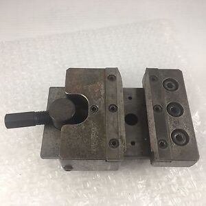 Brevetto Vintage Lathe Cross Slide Sliding Tool Holder