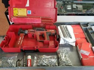 Hilti Dx750 Ram Set Preowned Fastener Guide Magazine 8 Box Nails Shells 2