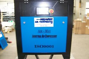 Air max 7 5 Hp industrial Rotary Screw Air Compressor 12 Year Warranty