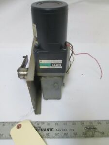Hobart Right Angle Gear Rotisserie Rotor Motor W Turn Arm Hr7e Rotary Oven