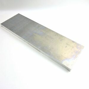 1 Thick Aluminum 6061 Plate 6 375 X 24 Long Item Has Edge Damage 136424