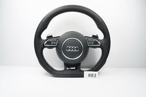 Audi A1 A3 S Line Flat Bottom Steering Wheel With Airbag Shift Paddles 83
