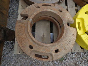 John Deere Allis Chamblers Farmall F h Wheel Weights Wno161 Set 2