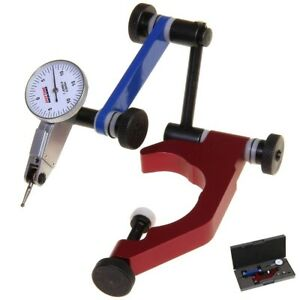 Universal Holder Quill Clamp Test Dial Indicator Set Measuring Clamping Tool Kit