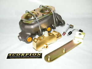 Gm Power Brake Delco Master Cylinder 1 Disc Drum With Proportional Valve Kit