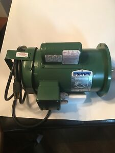 Baldor 35r945 115v 230v Electric Motor Single Phase Thermal Protected
