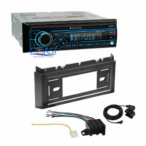 Planet Audio Car Radio Bluetooth Dash Kit Harness For 1985 90 Chevrolet Caprice