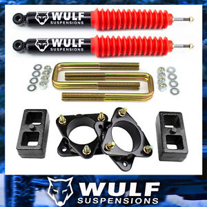 3 Front 2 Rear Leveling Lift Kit W Wulf Shocks For 1999 2006 Toyota Tundra