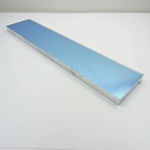 1 Thick Precision Cast Aluminum Plate 4 875 X 23 Long Sku136662