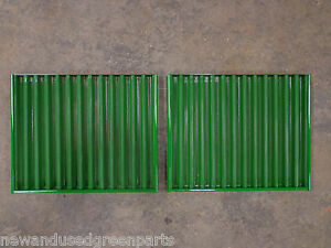 John Deere 820 830 920 930 1020 1030 2240 2420 Side Screen Grill Set W Springs