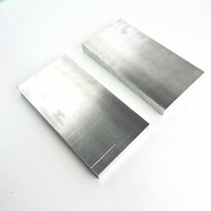 1 Thick Aluminum 6061 Plate 5 125 X 10 875 Long Qty 2 Sku 174361