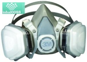 3m Respirator Half Face Mask Welding Industrial Paint Anti Dust Gas Protector M