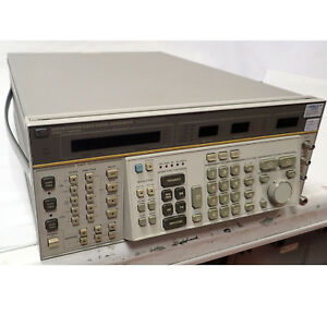 Hp 8663a Synthesized Signal Generator 100khz 2560mhz Option 002 Tested working