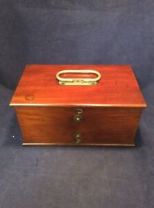 Antique J H Bunnell Home Medical Shock Therapy Box Only Quack Medicine