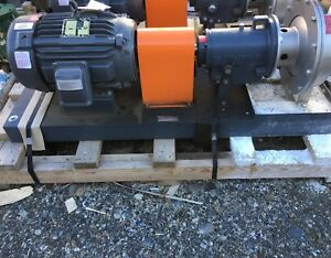 5hp Ss Centrifugal Pump Rs Corcoran 5000f Warranty Fast Shipping Baldor