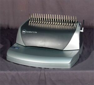 Good Gbc Combbind C110e Comb Binder And Electric Punch
