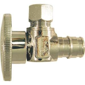 10 pex Pipe Type A 1 2 Expansion X 3 8 Compression Angle Stop Epxva1238c