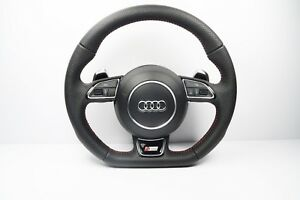 Audi S Line A5 S5 Steering Wheel Multifunction Flat Botton 1160
