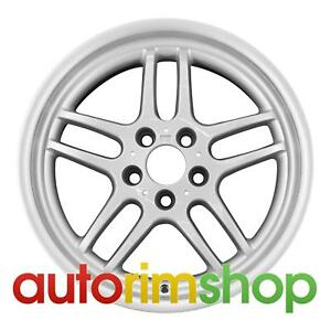 Bmw 740i 750i 18 Factory Oem Bmw Style 37 Rear Wheel Rim Silver 85329409905