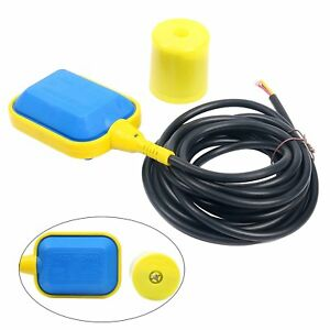 Pump Accessories 4m Cable Float Switch Water Level Controller For Tank