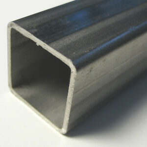 2 X 0 12 T 304 Stainless Square Tube Six Ft 72 Length