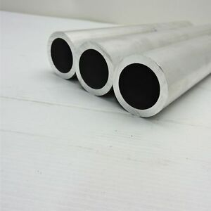2 Od Aluminum Round Tubing 25 Wall Thickness 23 5 Long Qty 3 Sku122932