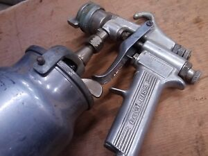 Devilbiss Mbc Air Spray Paint Spray Gun With Canister