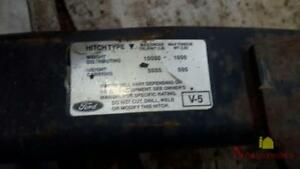 1999 Ford F250sd Pickup Tow Trailer Hitch