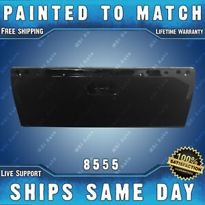 New Painted 8555 Black Steel Tailgate For 2007 2013 Chevy Silverado Gmc Sierra
