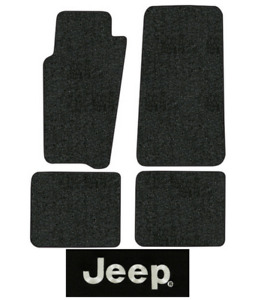 1996 1998 Jeep Grand Cherokee Floor Mats Zj 4pc Cutpile
