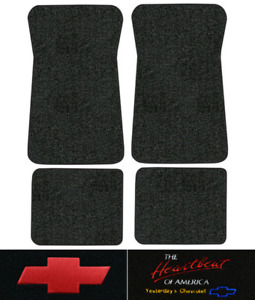 1971 1972 Chevy Townsman Floor Mats 4pc Loop