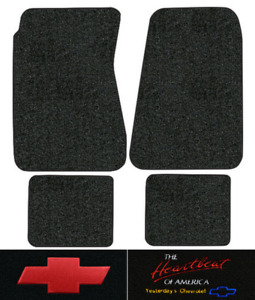 1970 1972 Chevy Chevelle Greenbrier Floor Mats 4pc Loop