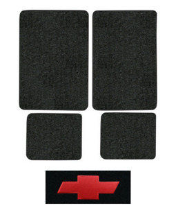 1989 1991 Chevy V1500 Suburban Floor Mats 4pc Cutpile
