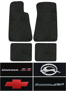 1994 1996 Chevy Impala Floor Mats 4pc Cutpile Fits With Snaps