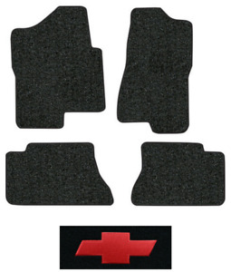 2001 2003 Chevy Silverado 1500 Hd Floor Mats 4pc Cutpile Fits Crew Cab