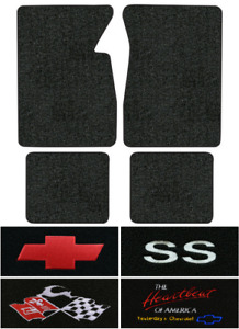 1965 1970 Chevy Impala Floor Mats 4pc Loop