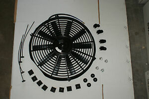 16 Inch Universal Electric Radiator Cooling System Fan Mounting Kit New