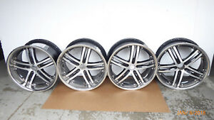 Vossen 20 Wheel Rims Staggered 5 Double Spoke 2304012902
