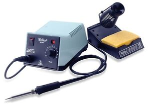 Weller Wes51 Analog Soldering Station Power Unit Soldering Pencil Stand Sponge